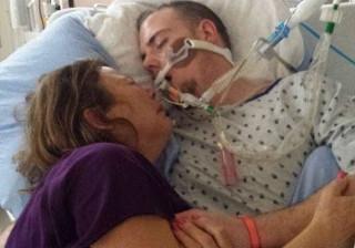 Mãe partilha fotografia de filho a morrer em jeito de alerta