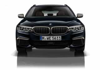 Conheça o novo BMW M550d xDrive. São 'só' 400 cv de potência