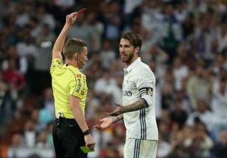 A história por detrás da camisola dada por Ramos ao árbitro do El Clásico