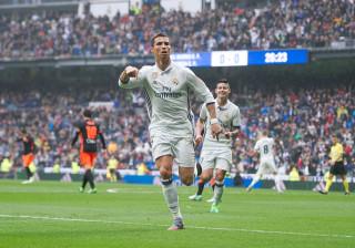 Marcelo 'safa' Real Madrid após golo histórico de Ronaldo