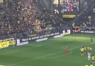 Subotic aplaude 'muro amarelo' e acaba homenageado