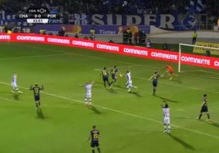 FC Porto pediu grande penalidade por lance com Pedro Queirós