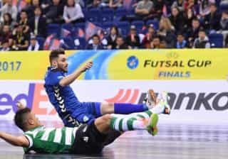 Inter Movistar goleia Sporting e conquista UEFA Futsal Cup