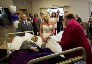Proximidade da morte obriga casal a organizar casamento em 24 horas