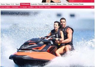 Kourtney Kardashian diverte-se com o novo namorado em Cannes
