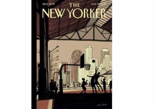 Português volta ao New Yorker com capa desenhada em iPad