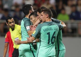 Final dramático (mas feliz) coloca Portugal nos 'oitavos' do Mundial