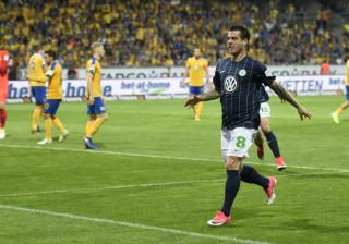 Golo de Vierinha evita despromoção do Wolfsburgo