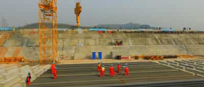 A China está a construir uma réplica em tamanho real do Titanic