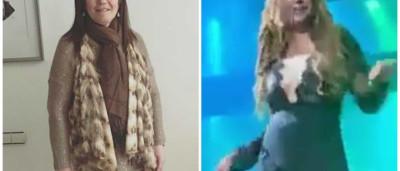 Katia Aveiro faz atuação com look ousado e deixa Dolores orgulhosa