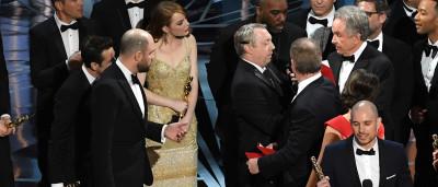 A reação de Emma Stone ao saber do erro de que toda a gente fala