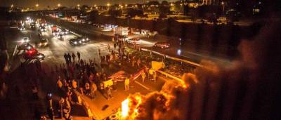 É dia de Greve Geral no Brasil. Manifestantes invadem as ruas