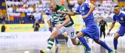Sporting derrota o campeão em título e está na final da UEFA Futsal Cup