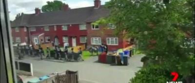 Divulgadas imagens do raide à casa do alegado bombista suicidida