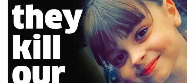 """""""Agora matam as nossas meninas"""". Dor nas capas da imprensa britânica"""