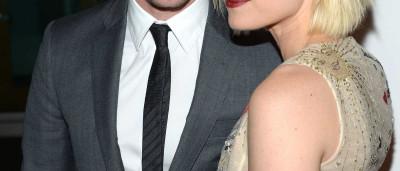 Kate Mara beijou o noivo pela primeira vez dez anos antes da relação