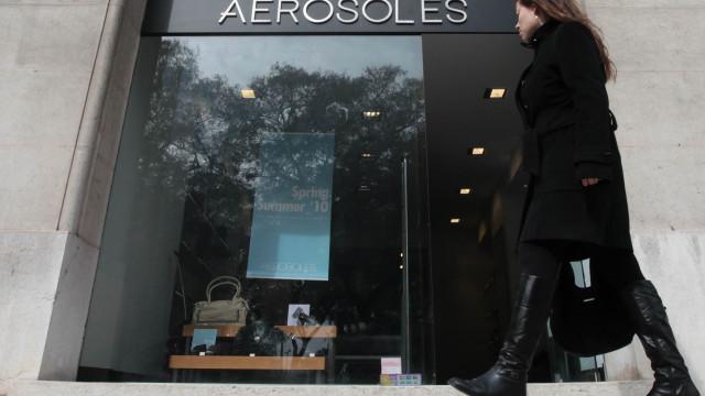 Aerosoles fecha fábrica e lojas. 90 postos de trabalho em risco