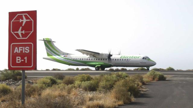 Contrato da Binter para linha aérea Madeira/Porto Santo entrou em vigor