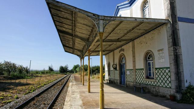 Pesado choca com comboio em Leiria. Maioria dos passageiros são crianças