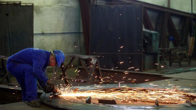 Produção industrial cresce em abril na zona euro e UE