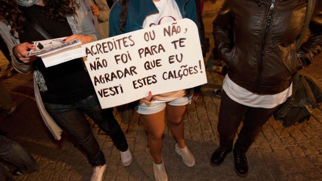 'Galdérias' marcham hoje no Porto contra o assédio e violência sexual