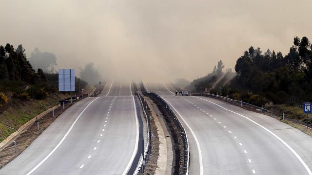 A25 cortada nos dois sentidos entre Viseu e Mangualde