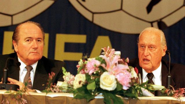 """""""Havelange tinha desejo de tornar o futebol numa 'linguagem universal'"""""""