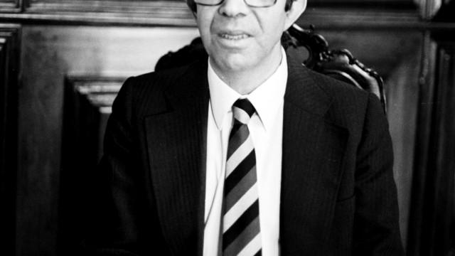 Morreu Oliveira Dias, antigo presidente do Parlamento e dirigente do CDS