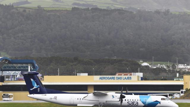 Avião da SATA fez aterragem de emergência na Terceira, sem feridos