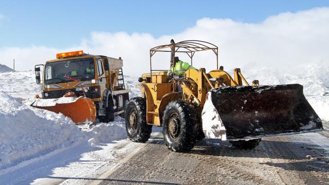 Estradas na Serra da Estrela reabriram às 12h