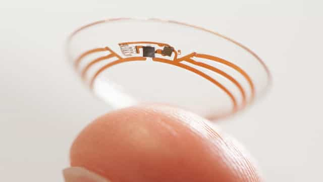 Criada lente de contacto que mede níveis de glicose