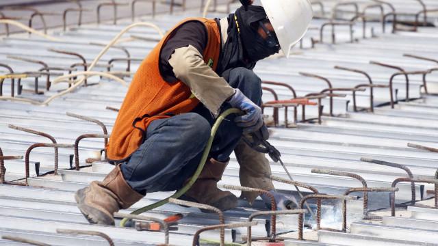 Produção no setor da construção sobe em janeiro na zona euro e UE
