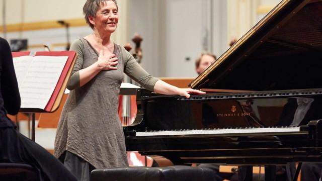 Maria João Pires tem recital marcado para a Ibercamera de Barcelona