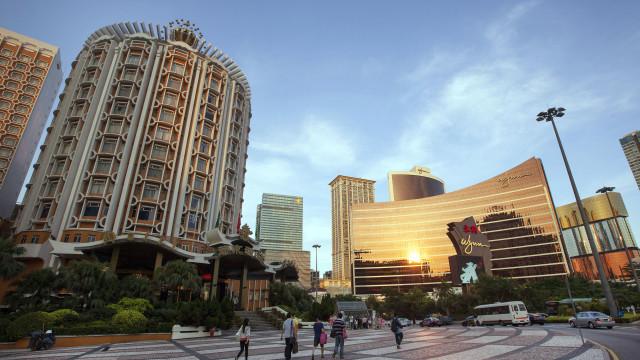 Receitas dos casinos de Macau cresceram 14% em 2018