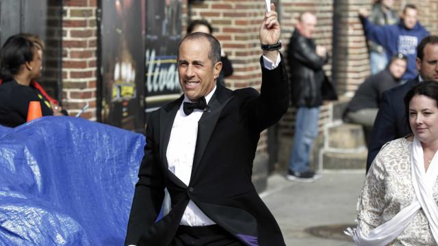 Jerry Seinfeld estreia no próximo mês programa na Netflix