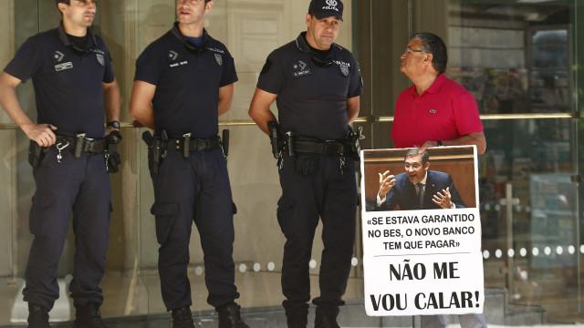 Lesados do BES protestam hoje em Lisboa