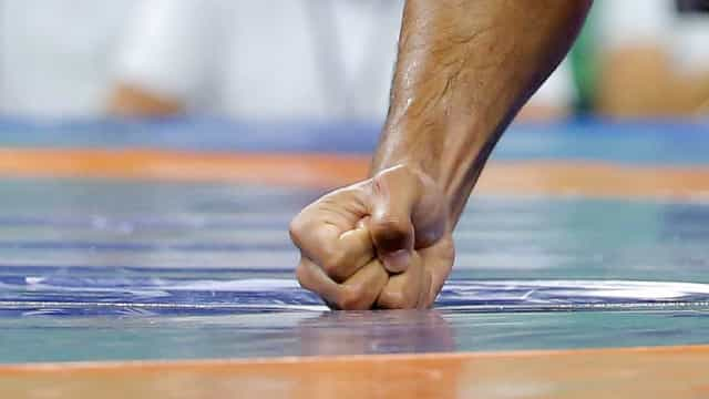 Judoca Anri Egutidze perde na luta pela medalha de bronze