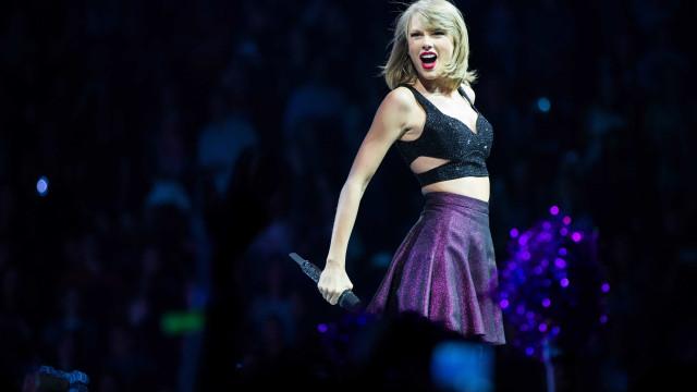 Taylor Swift lidera nomeações aos prémios europeus da MTV