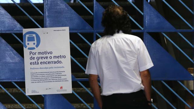 Nova greve no Metro de Lisboa em abril. Pré-aviso foi entregue