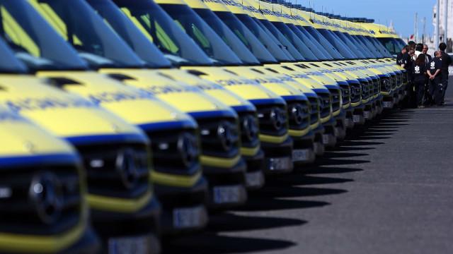 INEM iniciou renovação da frota e vai substituir 41 ambulâncias este ano