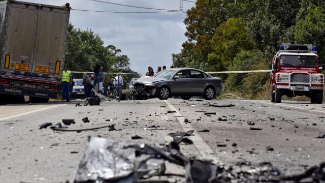 Um morto e sete feridos num despiste no Montijo