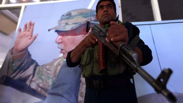 General Dostum, senhor da guerra no Afeganistão, voltou a Cabul