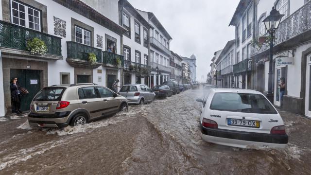 Proteção Civil alerta para previsão de chuva nos Açores