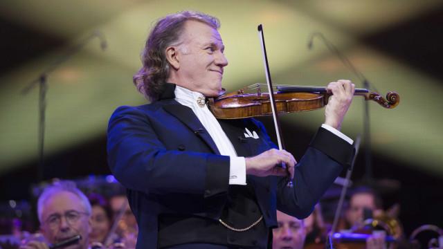 André Rieu marca novo concerto em Lisboa com datas anteriores esgotadas