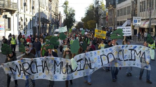 Lisboa e Porto são hoje palco de marcha internacional pelo clima