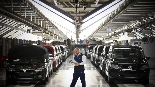 Produção automóvel em Portugal cresce 13,5% até outubro