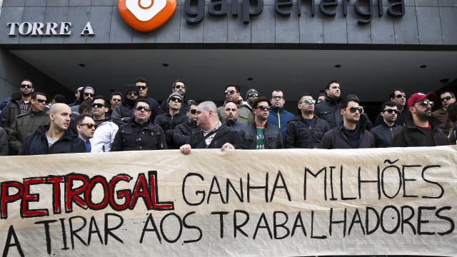 Trabalhadores da Petrogal iniciam amanhã greve de cinco dias