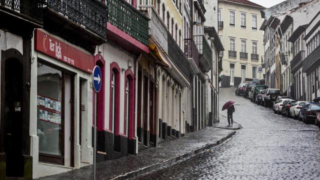 Sete ilhas dos Açores sob aviso amarelo devido à chuva
