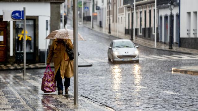 IPMA eleva para laranja aviso em cinco ilhas devido à chuva