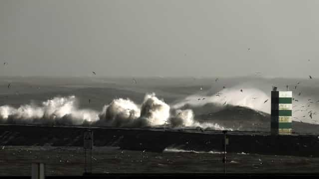 Costa portuguesa sob aviso amarelo devido à agitação marítima
